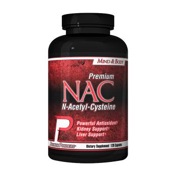 Packaging or Promotional image for NAC N-Acetyl-Cysteine