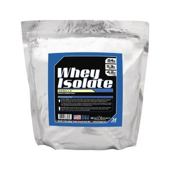 Packaging or Promotional image for Whey Isolate Vanilla