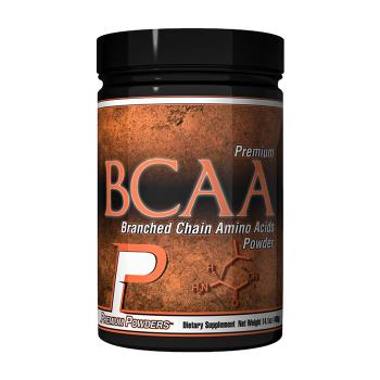 Packaging or Promotional image for BCAA Branched Chain Amino Acids