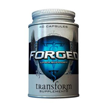 Packaging or Promotional image for Transform Forged - Liver Support