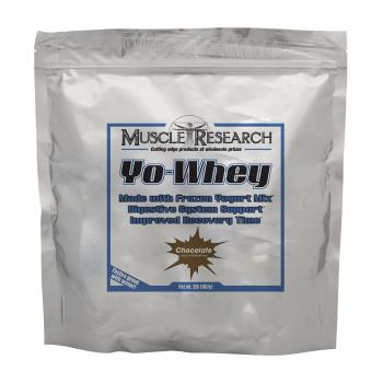 Packaging or Promotional image for Yo Whey Chocolate
